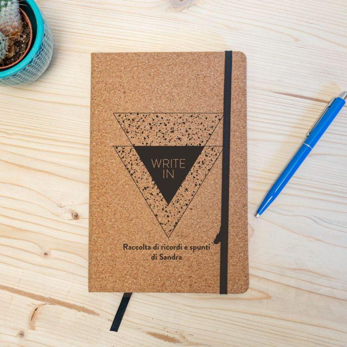 Notebook Personalizzabile in sughero - Write In