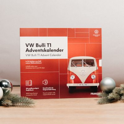Calendario dell'Avvento con Kit di Montaggio per VW Bulli T1