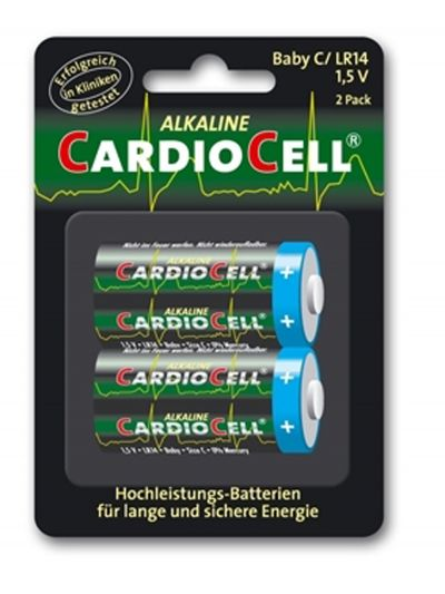 Lotto di 2 Pile Cardiocell Baby C-LR14