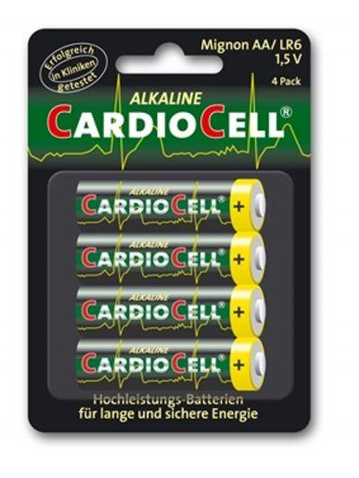 Set da 4 Batterie Stilo AA LR6 CardioCell