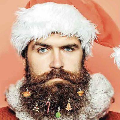 Addobbi di Natale per la Barba