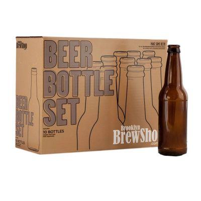Set di Bottiglie per Birra Brooklyn Brew Shop
