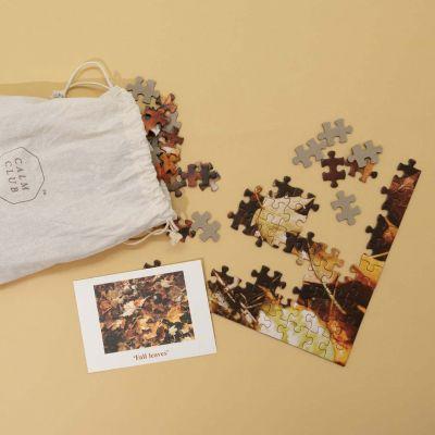 Puzzle Calm Club con Fogliame Autunnale