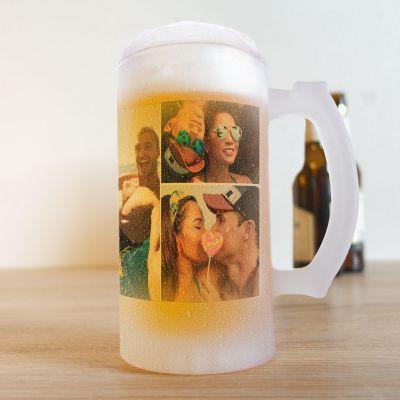 Boccale da Birra con 5 Foto