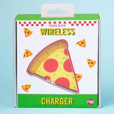 Caricabatterie Wireless a forma di Pizza