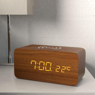 Caricabatterie Wireless con Sveglia