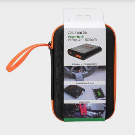 Caricabatterie 3 in 1 con Funzione Avviamento per Auto e Compressore