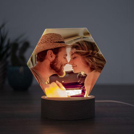 Lampada LED con Foto