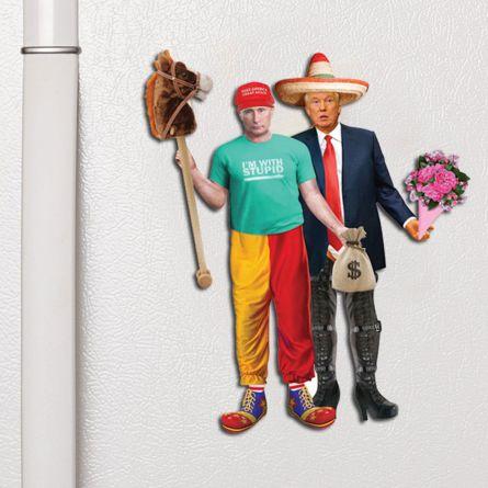 Magneti Trump & Putin da Vestire