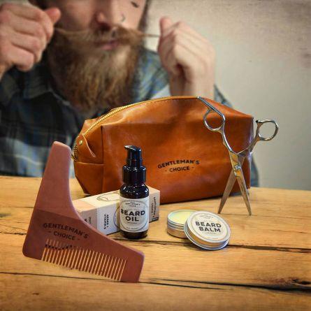 Set Deluxe per la Cura della Barba