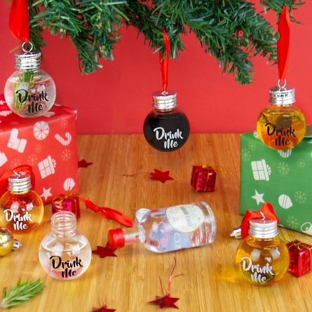 Palline Porta-Liquore per Albero di Natale