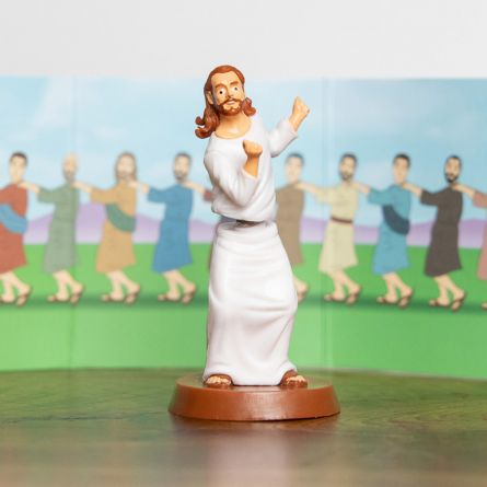 Personaggio Dondolante Dancing With Jesus