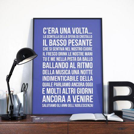 Poster Personalizzabile - C'era una Volta