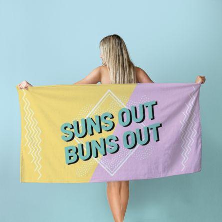 Asciugamano Personalizzabile Colorato