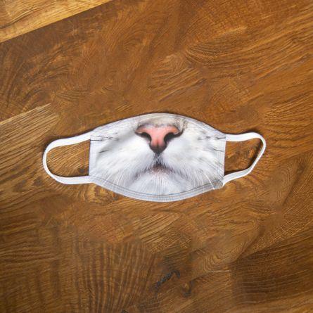 Mascherina con Muso di Gatto