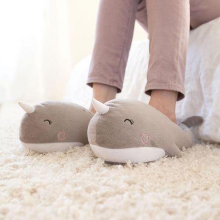 Pantofole Riscaldate Narvalo – USB