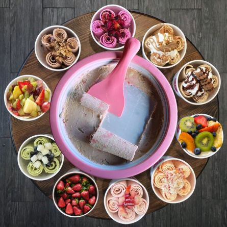 Rolling Ice Cream – Gelatiera Arrotola Gelato