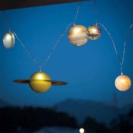 Stringa Di Luci Sistema Solare