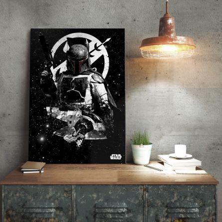 Poster di metallo Star Wars – Slave 1 Boba Fett