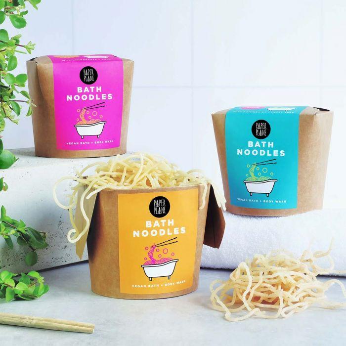 Noodles da Bagno in Stile Asiatico