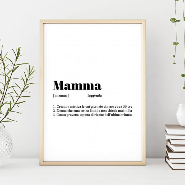 Poster Personalizzabile Definizione