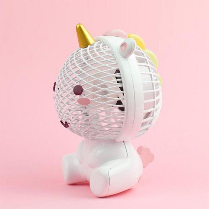 Ventilatore Unicorno Elodie con USB