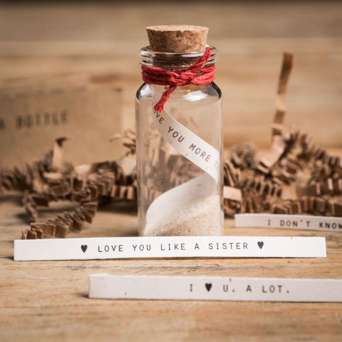 Set Messaggio In Bottiglia - Cuore