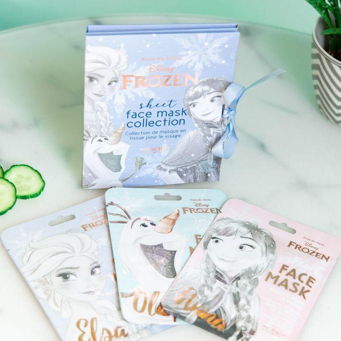 Set Frozen con 3 Maschere per il Viso