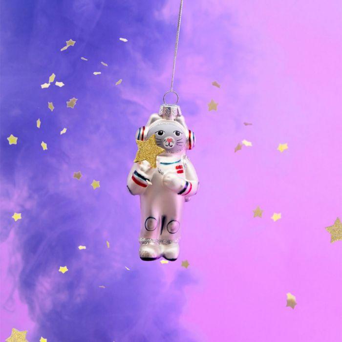Palla di Natale Gatto Astronauta