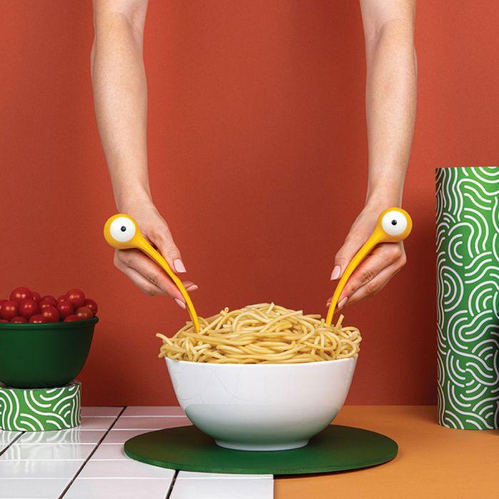 Set Servi-Pasta Spaghetti Monster Volante