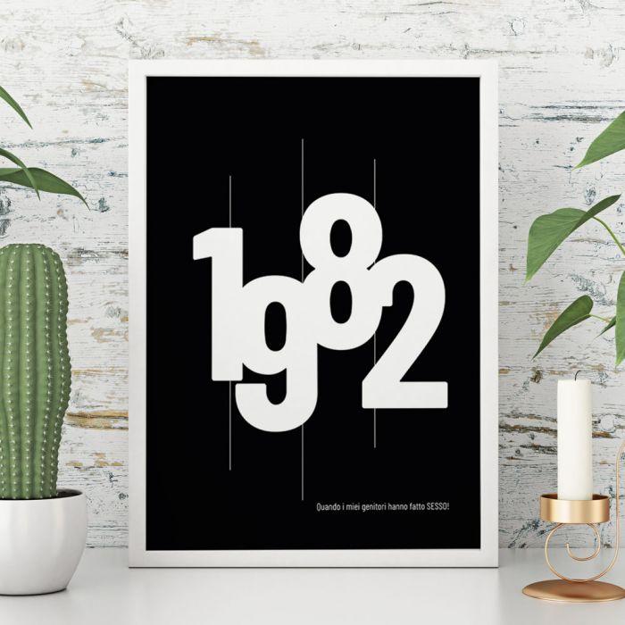 Data di Nascita - Poster Personalizzabile