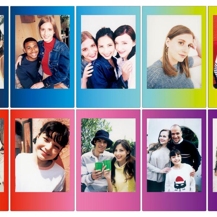 Fuji Instax Carta Fotografica Colorata