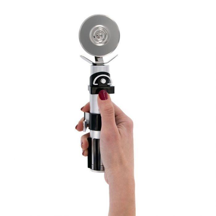 Rondella Tagliapizza Star Wars Spada Laser con Effetto Sonoro