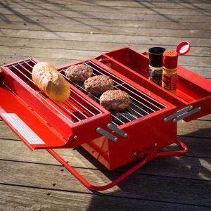 Cassetta degli attrezzi Barbecue Portatile