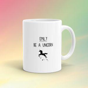 Tazza Personalizzata Unicorno