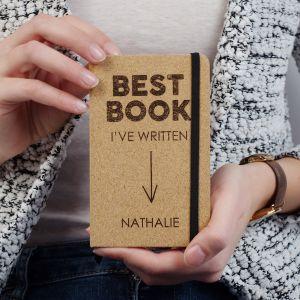 Taccuino in Sughero Personalizzabile - Best Book