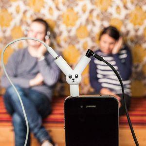 Splitter Audio Jack Rabbit