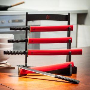 Il kit espositore coltelli da cucina Samurai