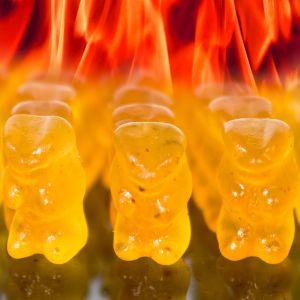 Orsetti Gommosi Piccanti Hot Gummy Bear