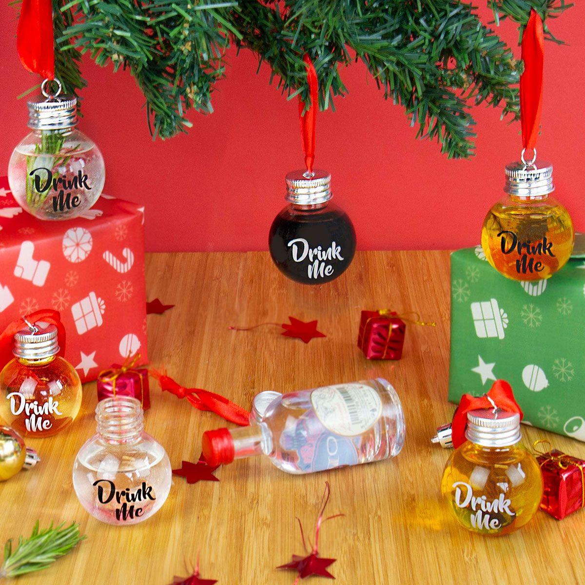Palline Porta Liquore Per Albero Di Natale