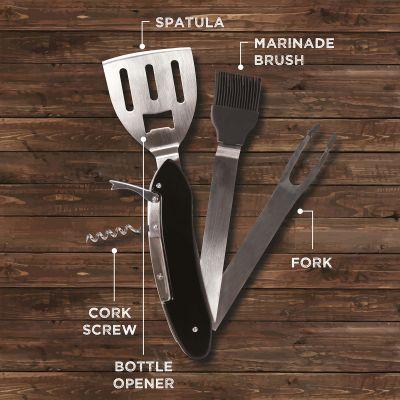 Cucina & Grill - Utensile da Barbecue 5 in 1