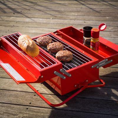 Cucina & Grill - Cassetta degli attrezzi Barbecue Portatile