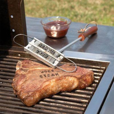 Regali di compleanno - BBQ Branding Tool - marchiatore per bistecche