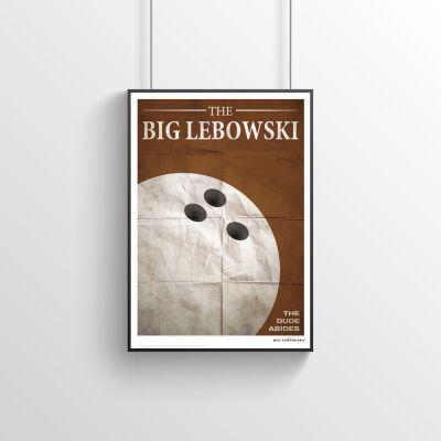Cinema & Serie TV - Il Grande Lebowski (The Big Lebowski) – Poster citazioni cinematografiche