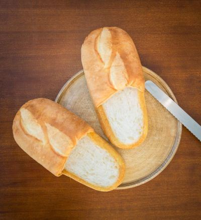 Regali di compleanno 20 anni - Pantofole al pane bianco