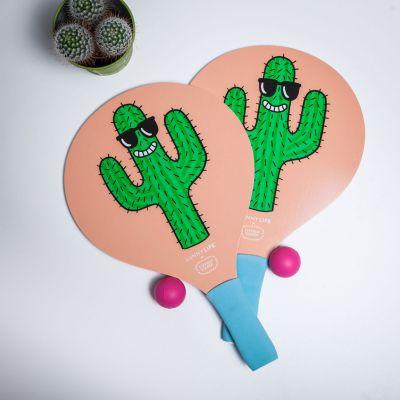 Gioco & Divertimento - Racchettoni Cool Cactus