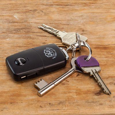 Idee regalo amico - Caricabatterie Smartphone a forma di chiave d'automobile