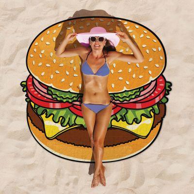 Gadget da Viaggio - Telo Mare Cheeseburger