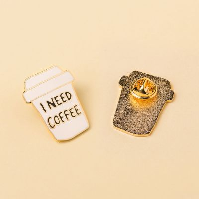 Abbigliamento & Accessori - Spilletta I Need Coffee