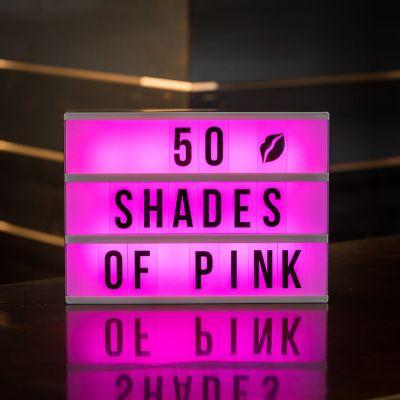 Illuminazione - Lampada da tavolo Insegna Cinema – cambia colore